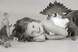 Girl Loves Dinosaurs