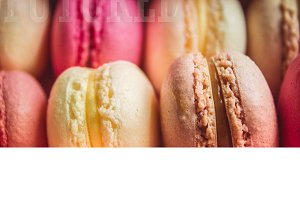 Tasty colorful Macaroon Assorted