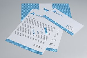Creative Pattern Stationery Design