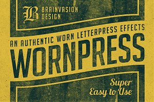[SALE] Wornpress - Photoshop Action