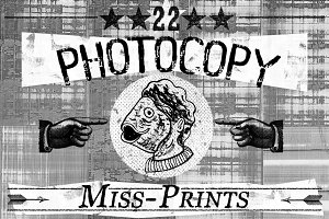 22 Photocopy MissPrints