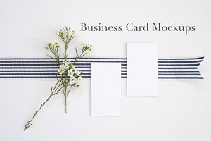Styled Stock | Business Card Mockups