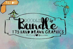 Holiday SALE! Bundle of DoodleArt