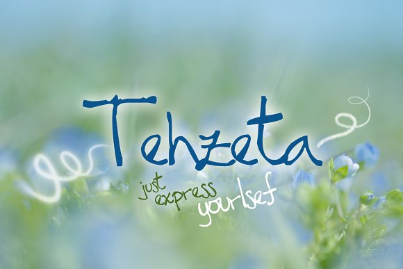 TEHZETA font (commercial use)