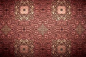vintage relief pattern