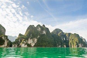 Island and lake