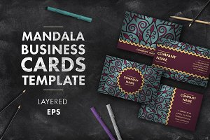 Mandala business card 001