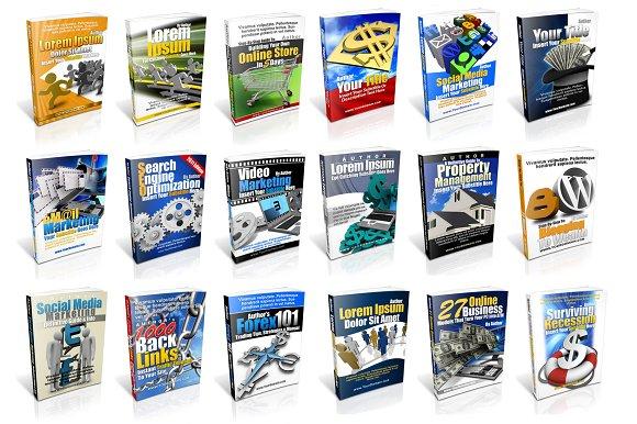 instant ebook cover template pack templates creative market. Black Bedroom Furniture Sets. Home Design Ideas