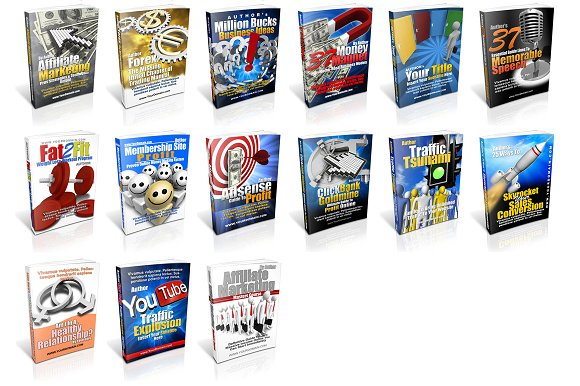 instant ebook cover template pack templates creative market