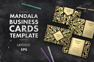 Mandala business card 002