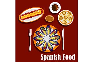 Traditional spanish cuisine