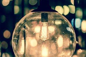 Retro Edison light lamp