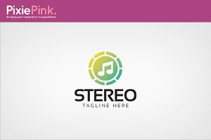 Stereo Logo Template