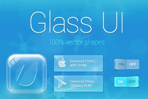 Glass UI Kit