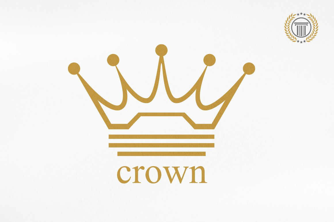 Royal Crown Logo Design Premium Logo Templates