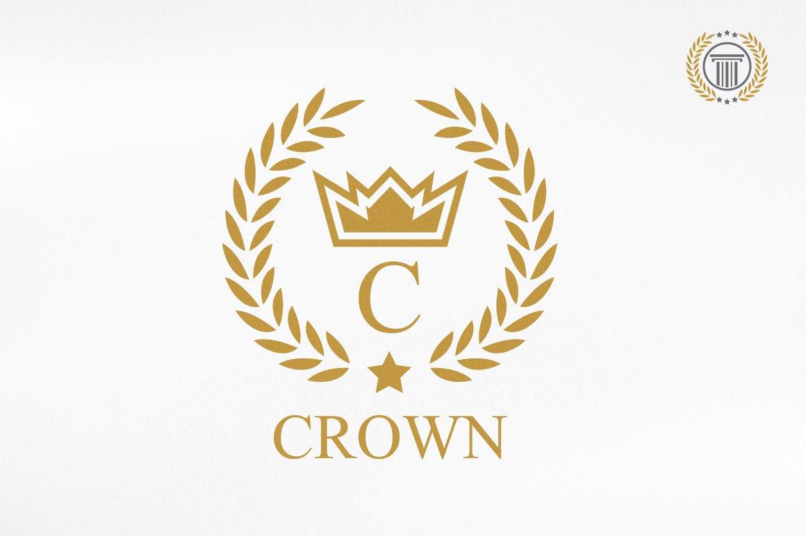 Crown Logo Design Premium Logos Logo Templates