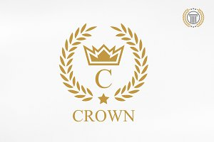 Crown Logo Design | Premium Logos