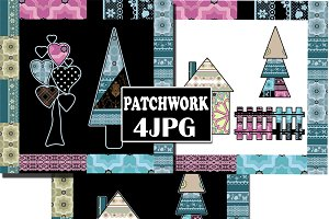 Art design patchwork