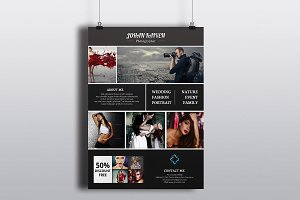 Photography Flyer Template-V252