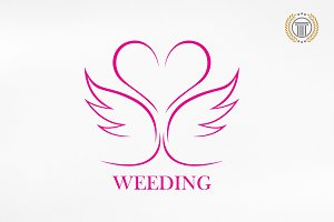 Weeding / Marriage / Premium Logos