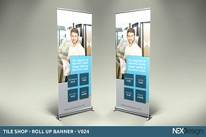 Tile Shop - Roll-Up Banner - SK