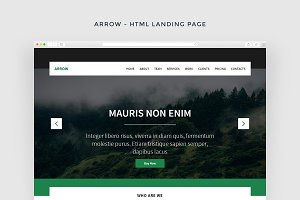 Arrow - Multipurpose HTML Theme