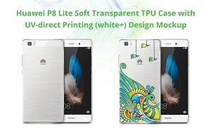 Huawei P8Lite TPUCase UV Print Mock