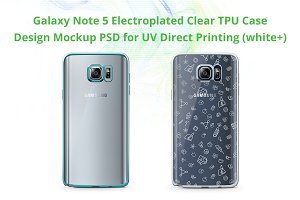 Galaxy Note 5 Electro Clear TPU Case
