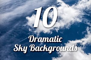 Dramatic Sky Backgrounds Pack 1