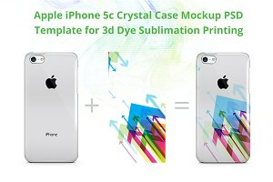 iPhone 5C Crystal Case Design Back