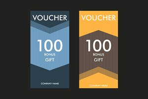 Gift certificates template Vol.2