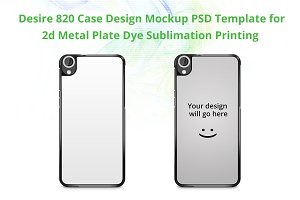 Desire 820 2d IMD Case Mock-up