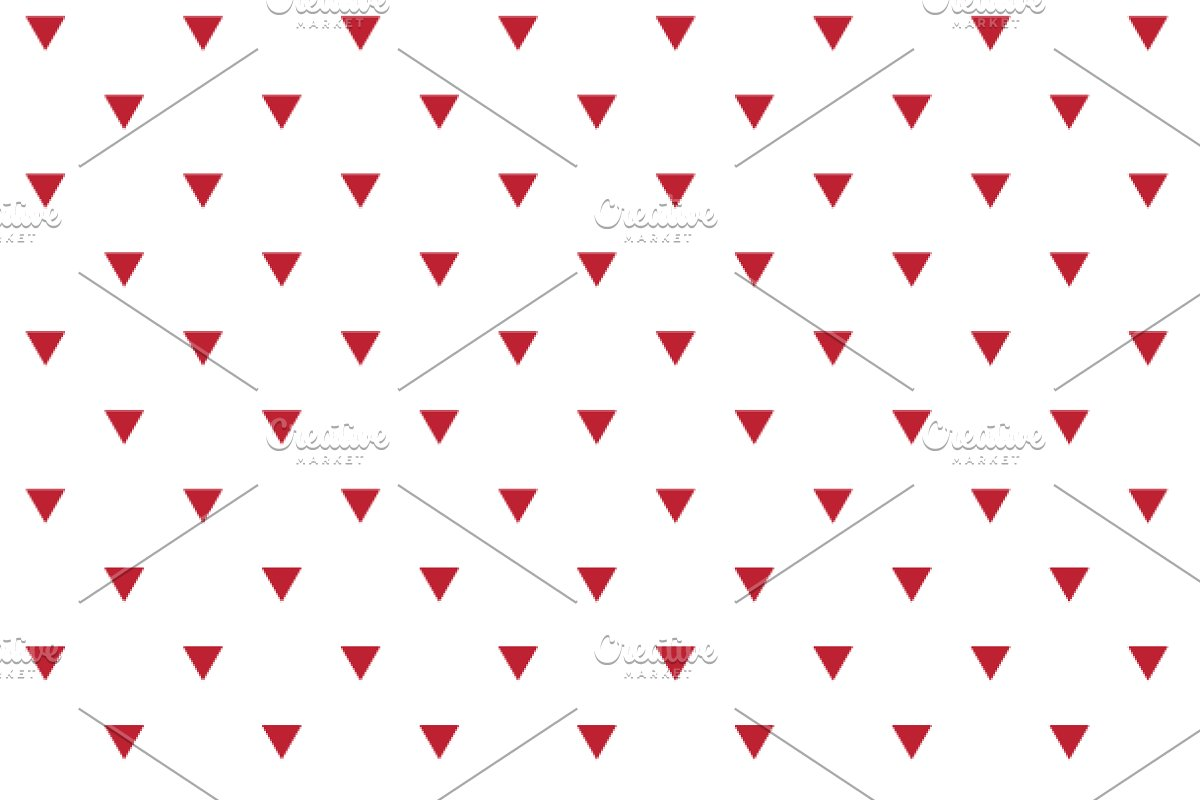 Geometric Background Papers Red Grey Custom Designed Graphic Patterns Creative Market