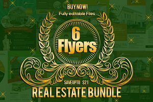 Real Estate Agency Flyer Bundle