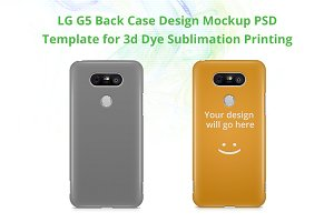 LG G5 3d IMD Case Mock-up
