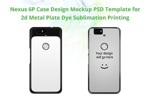 Nexus 6P 2d IMD Case Mock-up
