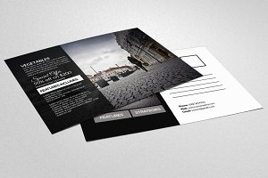 Marketing Business Postcard
