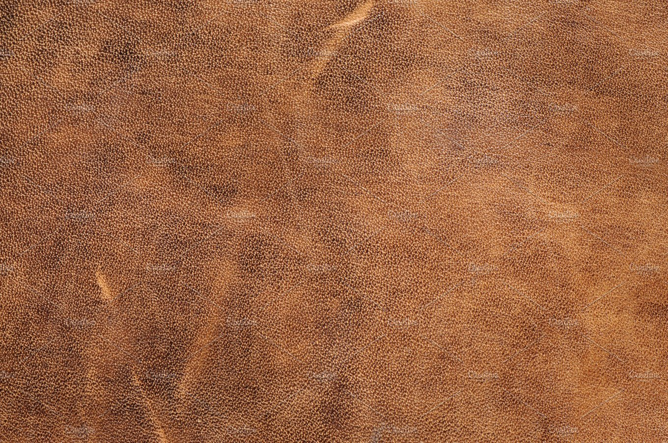 Close Up Nude Color Crumpled Leather Texture Background