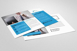 Online Advertisement Agency Postcard