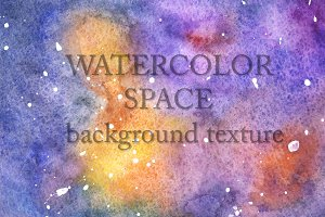 Space Watercolor