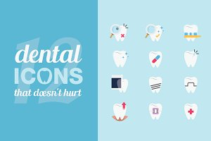 12 Dental Icons