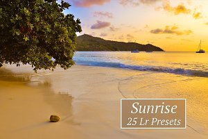 25 Sunrise Lr Presets