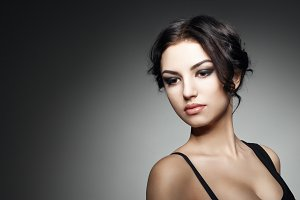 Fashion Brunette Girl