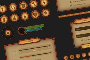 Fantasy Mobile UI