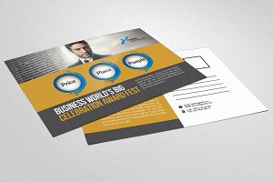HR Consulting Business Postcard