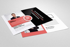 Business Training Agency Postcard