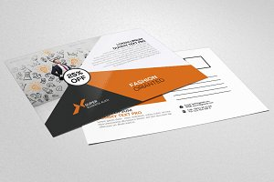 Insurance Agency Business Postcard