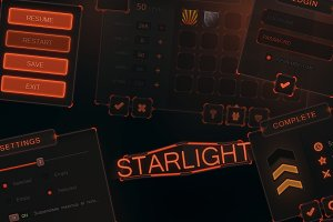 StarLight Mobile UI