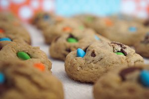 Blue Green Gold Cookies 1