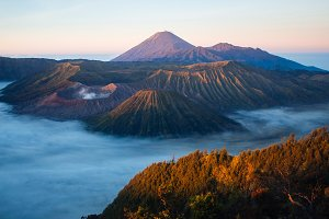 Bromo mountain, Indonesia